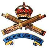 Machine Gun Corp Badge